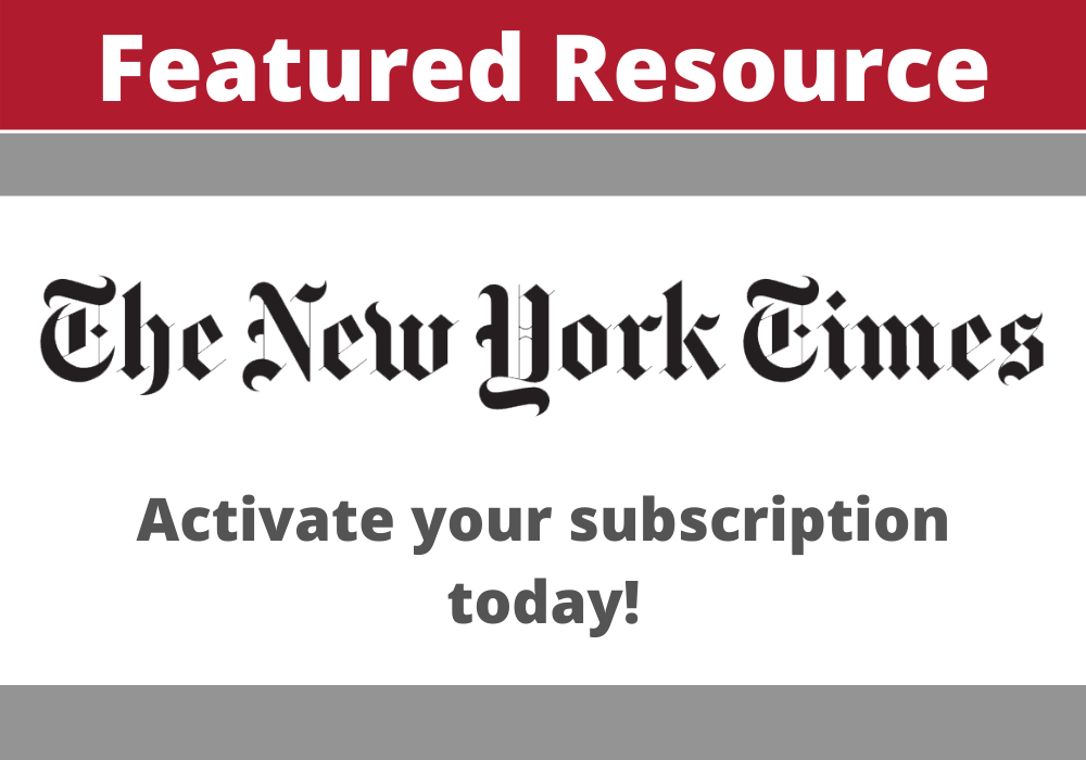 The New York Times Featured Resource