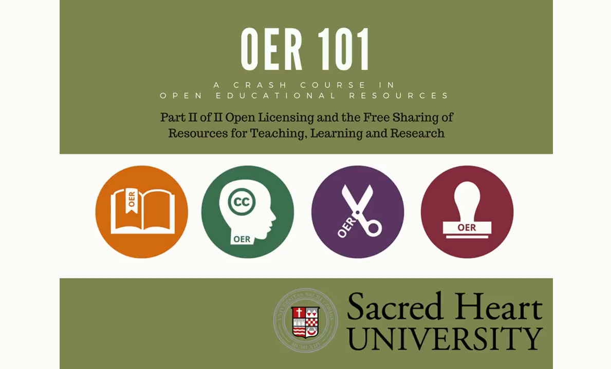 OER Part 2 Video Tutorial