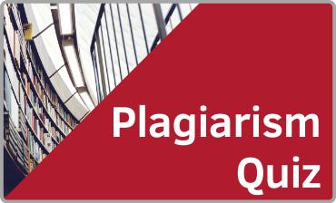 Plagiarism Quiz Tutorial