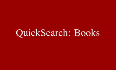 QuickSearch Books Video