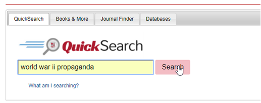 QuickSearch query