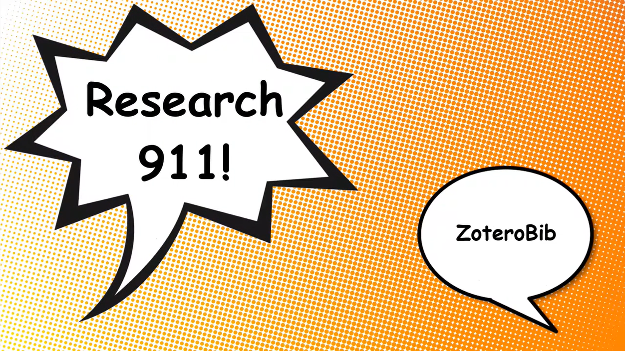 Research 911: Zoterobib Video Tutorial