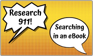 Research 911: Searching in an eBook Video Tutorial
