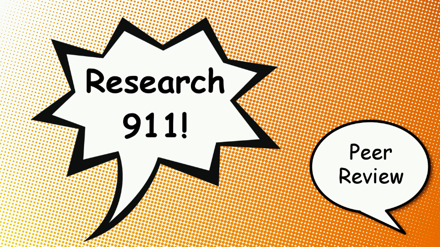 Research 911: Finding Peer-Reviewed Articles Video Tutorial