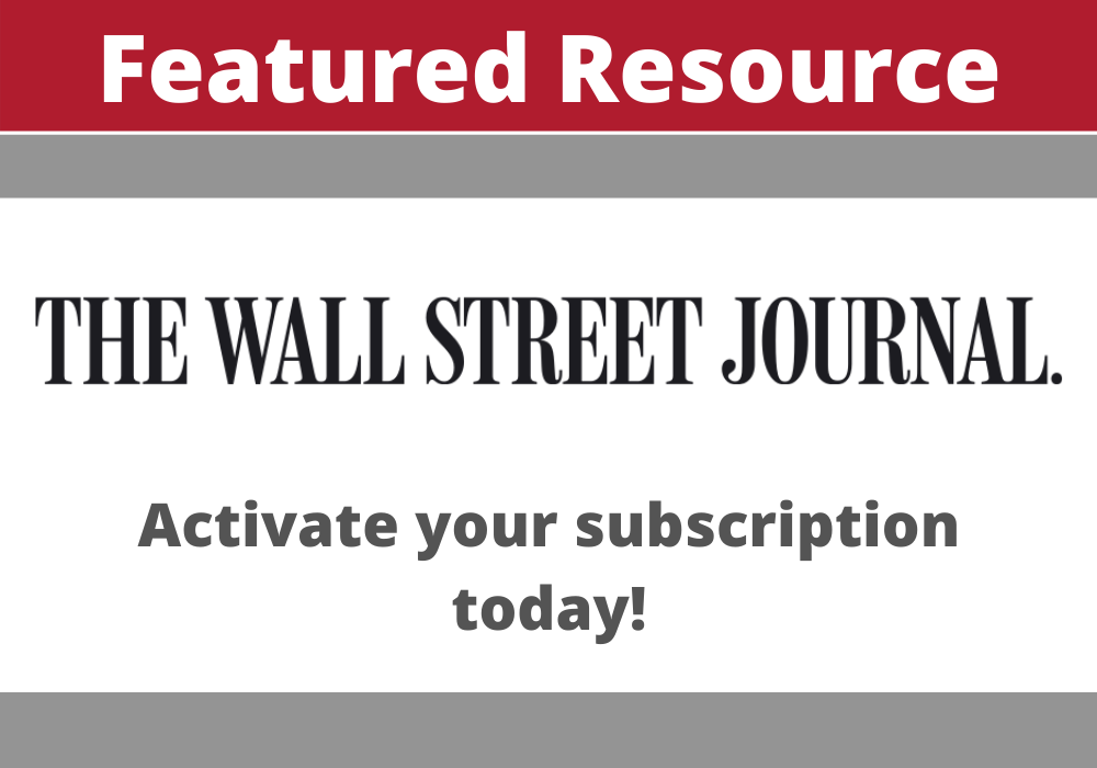 The Wall Street Journal Featured Resource