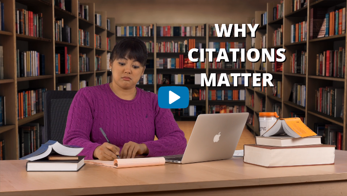 Why Citations Matter Video Tutorial