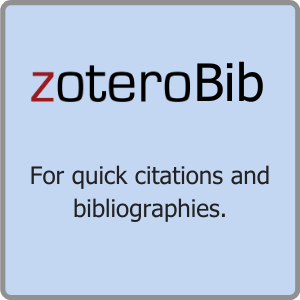 Zoterobib for quick citations and bibliographies