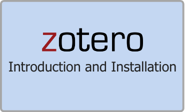 Zotero Introduction and Installation Guide Video Tutorial