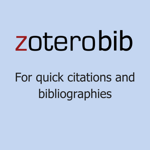 Zoterobib for quick citations and bibliographes