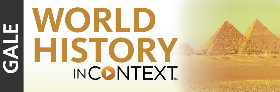 World History in Context Database