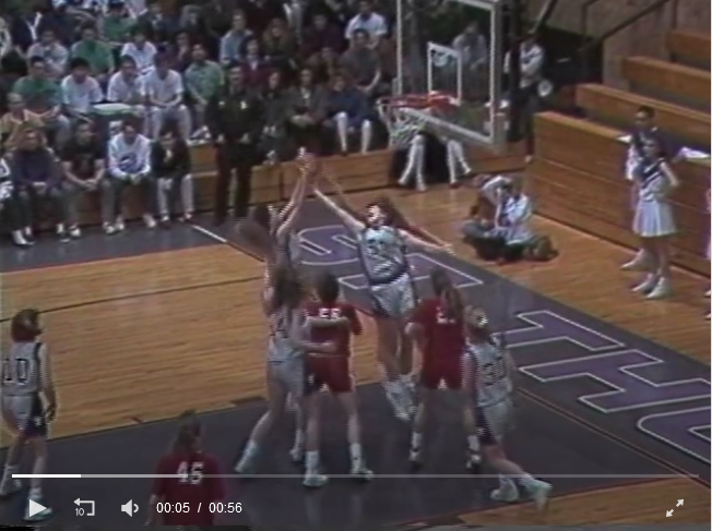 Still of video highlight of 1991 championship