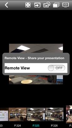 AirMedia iOS Shot & Show view