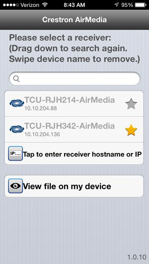 iOS start screen