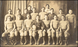 James Works heads up 1921 NFS football team