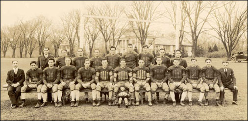 1933 NFS squad was just one of the Coach Samuels' outstanding teams