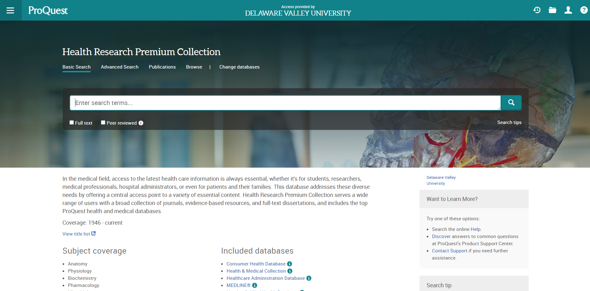 Health Research Premium Collection‎