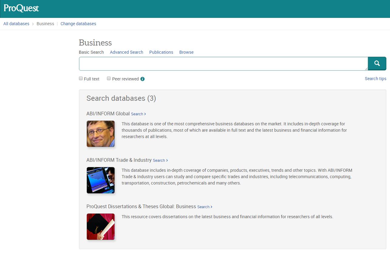 ABI/Inform Research