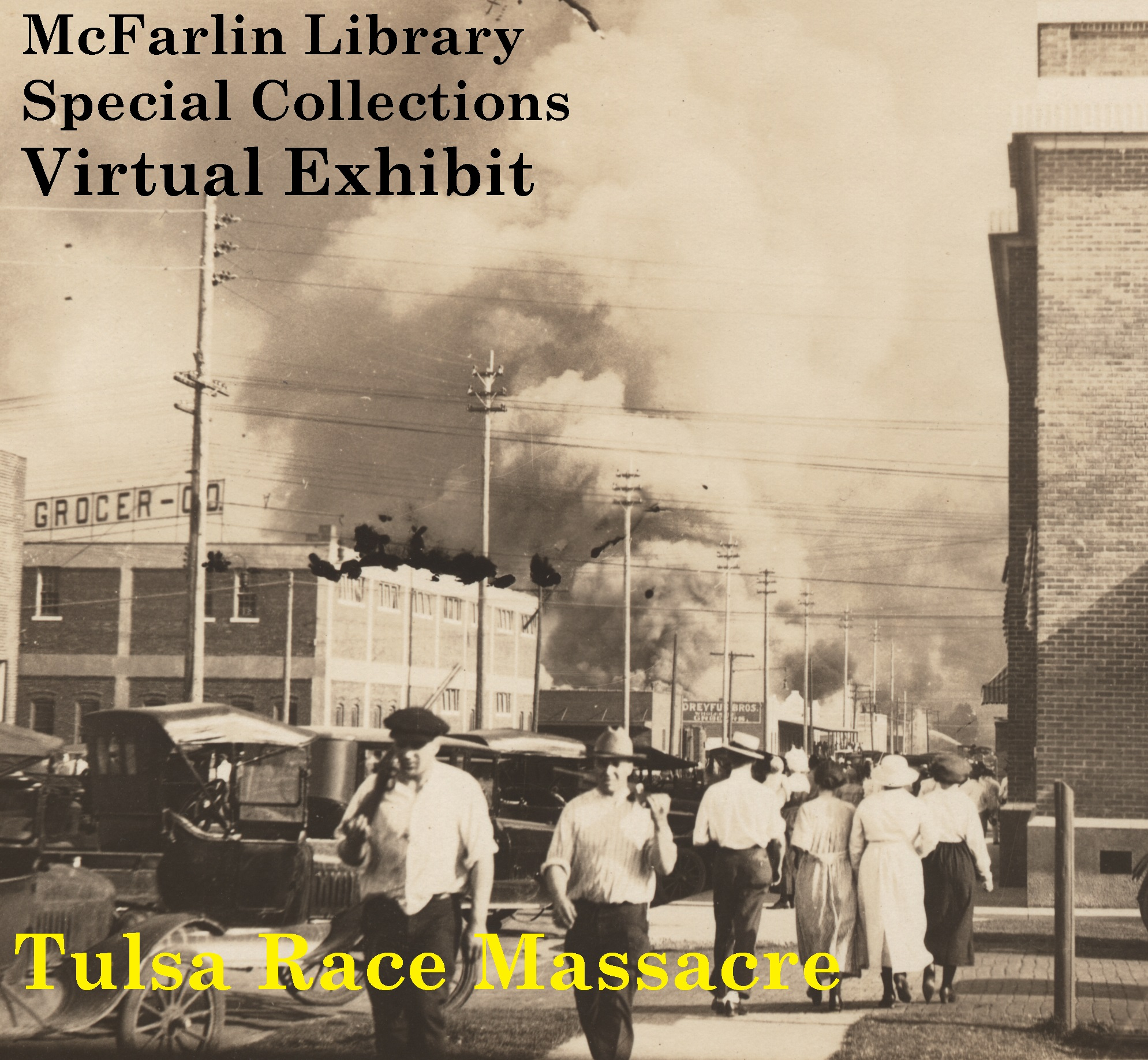 Tulsa Race Massacre Exhibit