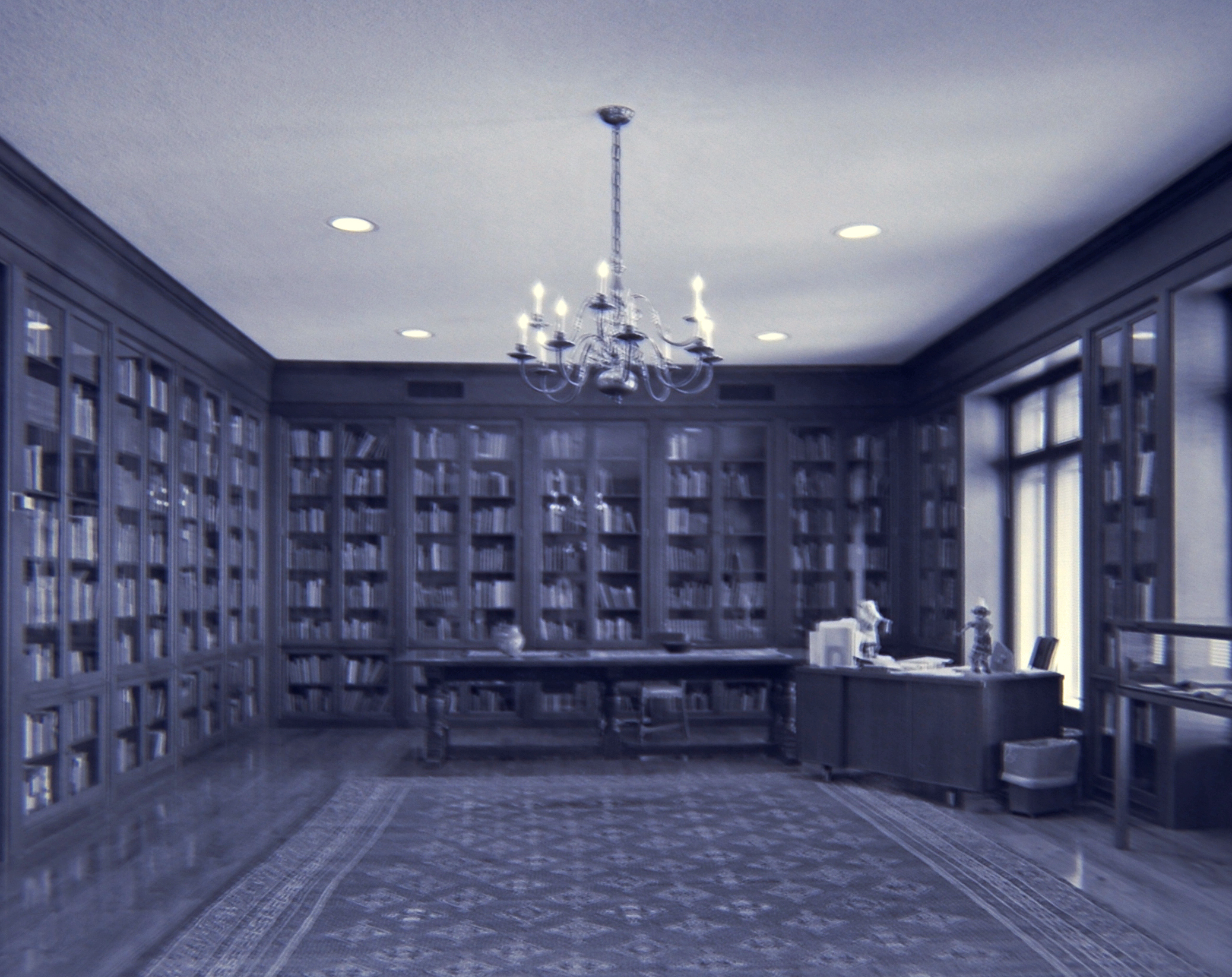 Jack and Tybie Davis Satin Reading Room