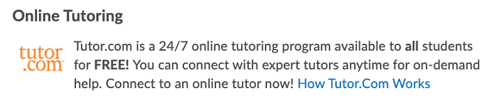 online tutoring with tutor.com