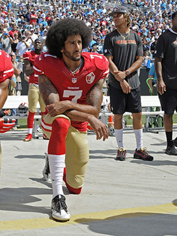 Colin Kaepernick: Protesting The National Anthem