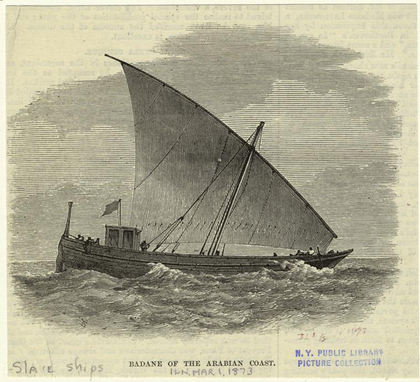 A Slave Ship on the Arabian Coast, 1873