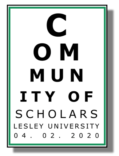 Community of Scholars Day logo from 2020