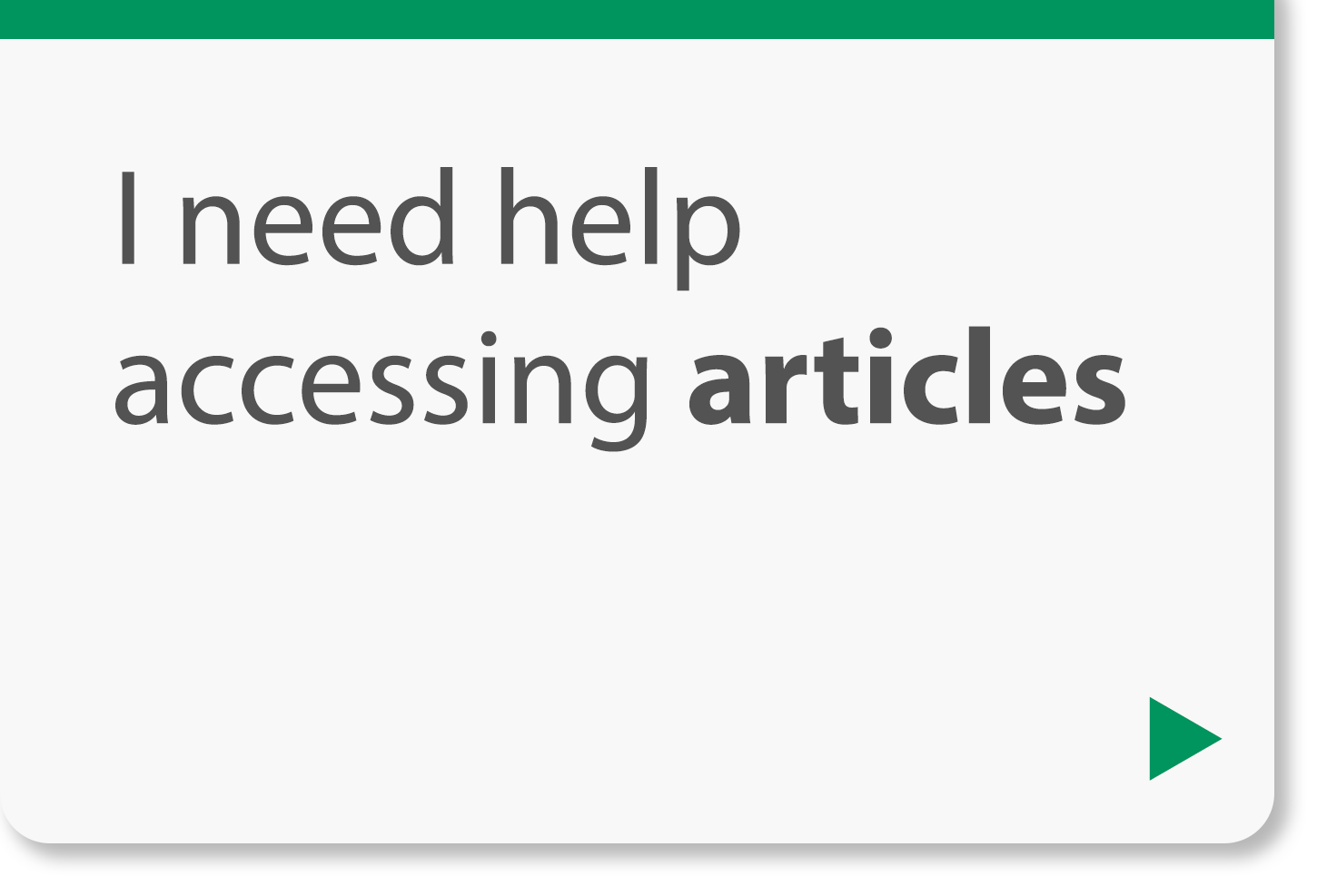 I need help accessing articles