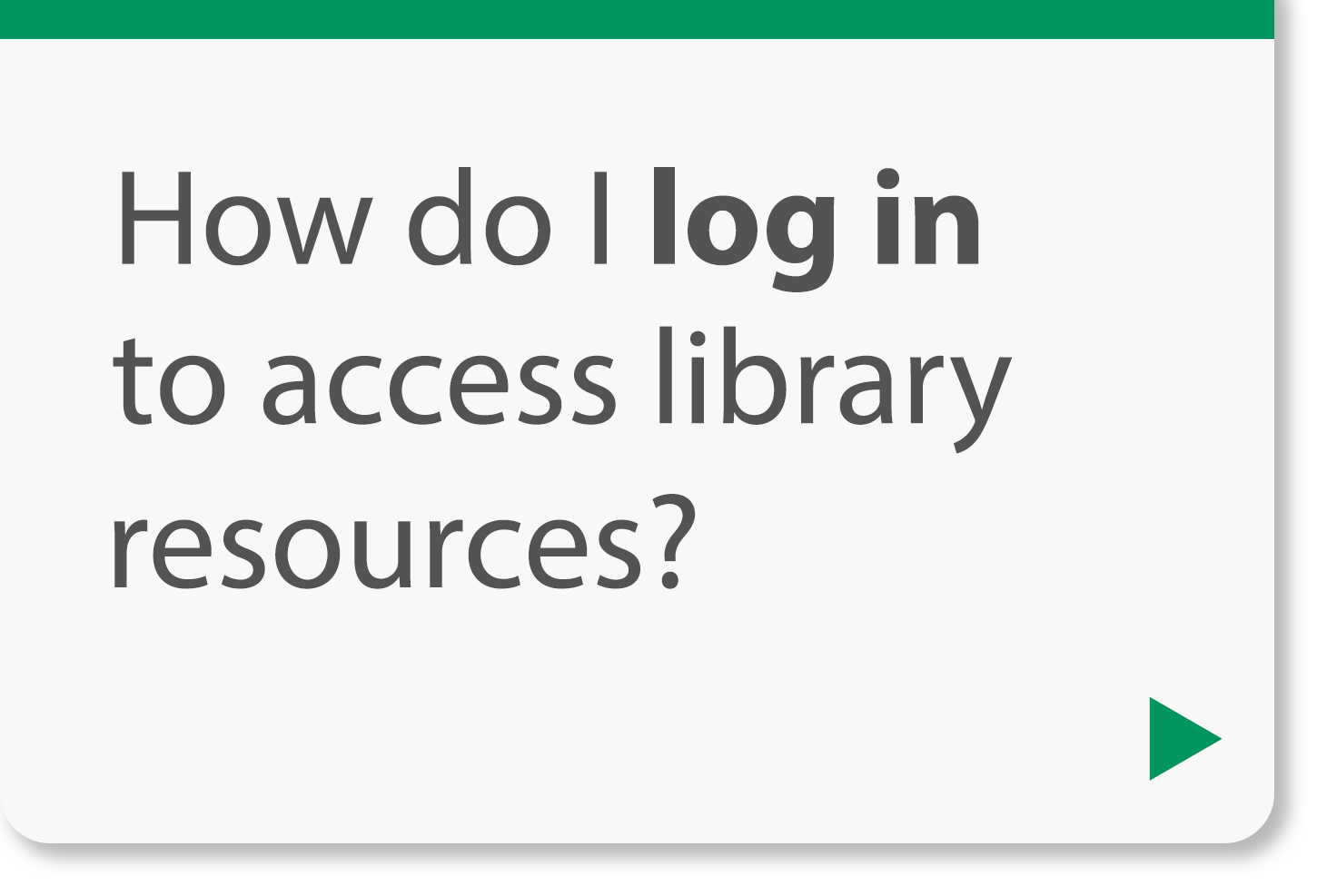 How do I log in to access library resources?