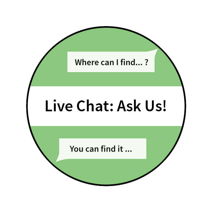Chat Box button. Click to chat with a librarian.