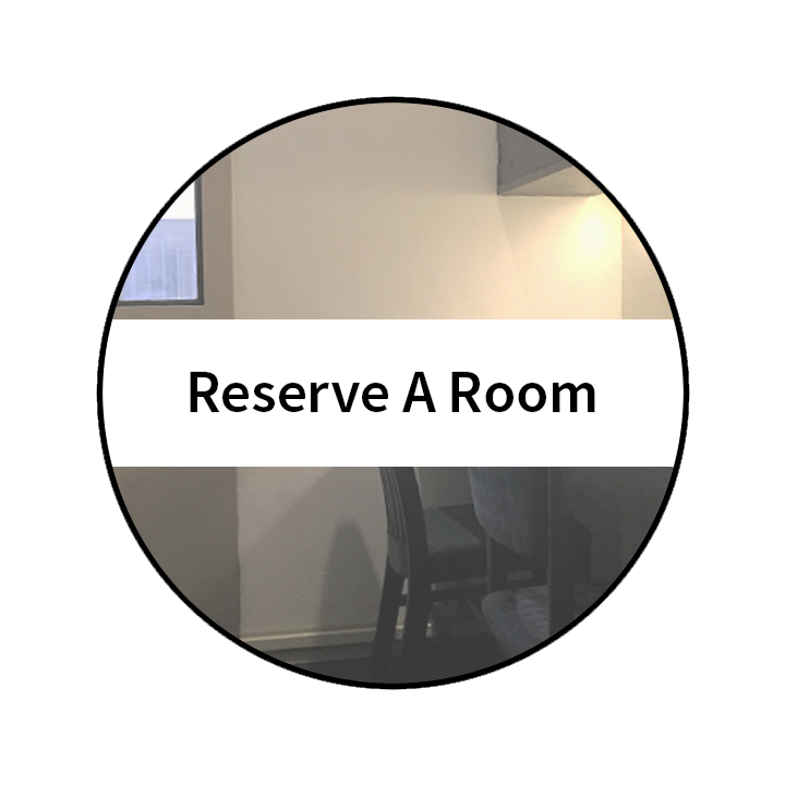 Reserve a room button. Click to reserve a study or conference room.