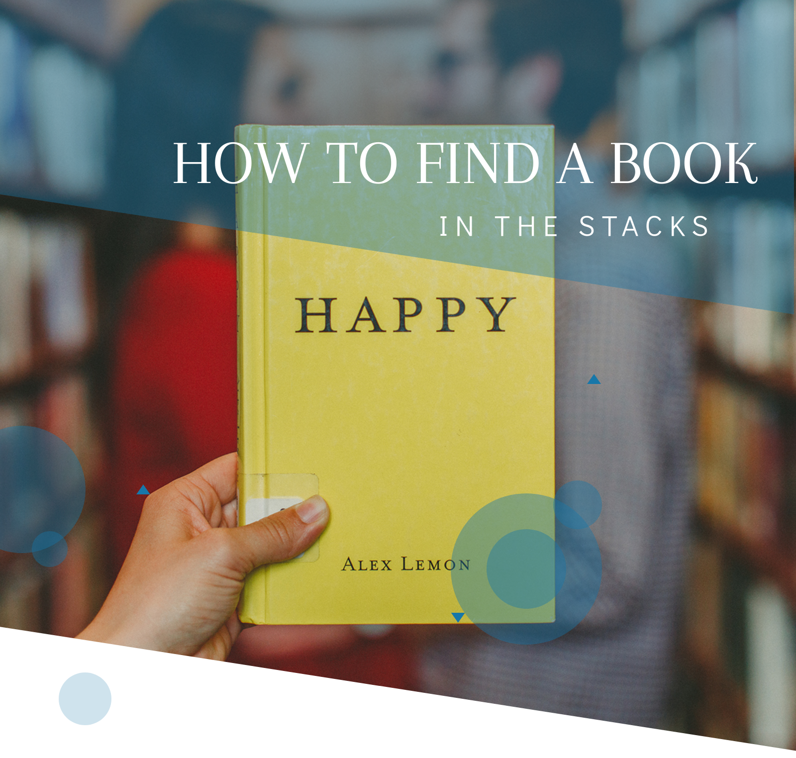 Finding Books Tutorial Image