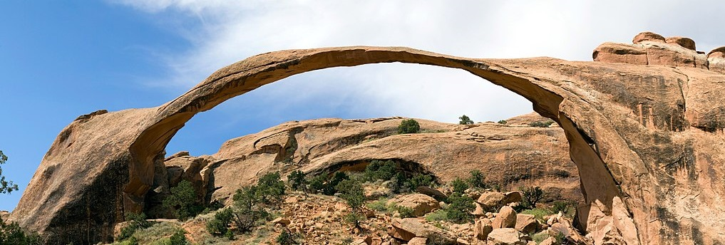 Natural rock arch. Click to go to guide homepage