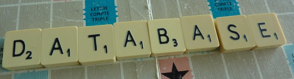 Scrabble letters spelling out database. Click to go to homepage.