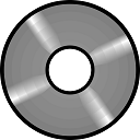 DVD or CD Icon