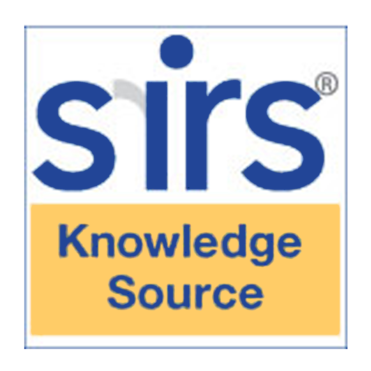 SIRS Knowledge Source
